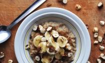 Hazelnut and Banana Porridge Slicer
