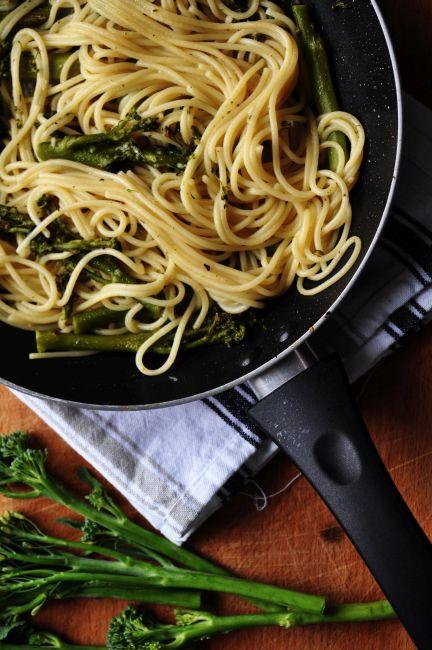 Pasta con Broccoletti 1