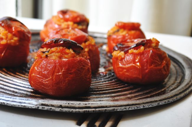Pomodori Imbottiti di Riso 1