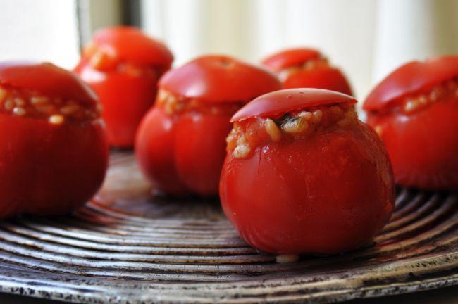 Pomodori Imbottiti di Riso 2